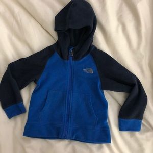 The North Face toddler fleece hoodie